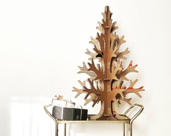 Artificial eco cardboard Christmas tree for small spaces 90 cm / 2'95''