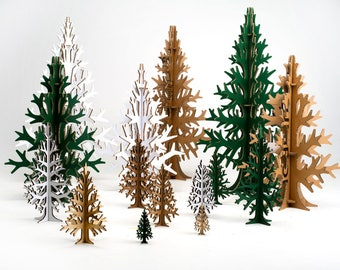 2m 656 ft super tall cardboard laser cut christmas tree modern holiday decoration home and office decor - Cardboard Christmas Decorations