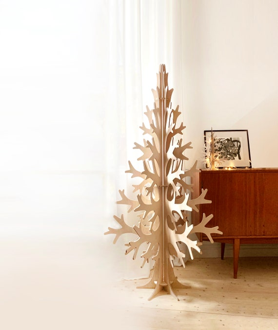 Beautiful plywood Christmas Tree template, cnc route file, cnc digital file