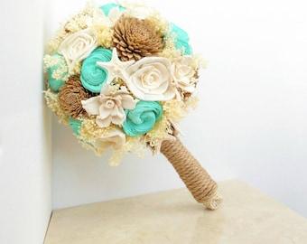 Beach Wedding Bouquet Etsy