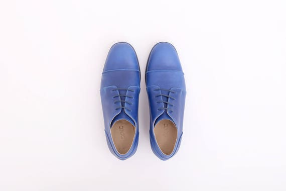 5aabf174495712 ... free tie ADIKILAV Blue shoes handmade womens leather shipping shoes  shoes women s xC8RCwq4 ...