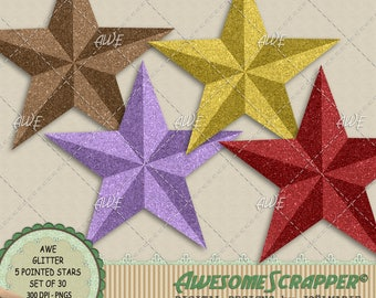 Dimensional Stars Etsy