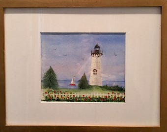 Vintage Watercolor ... Free Shipping