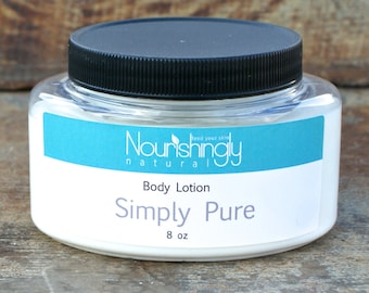 Fragrance Free Lotion, Sensitive Skin cream, unscented lotion, pure natural lotion, paraben free lotion, beeswax lotion, coconut oil lotion