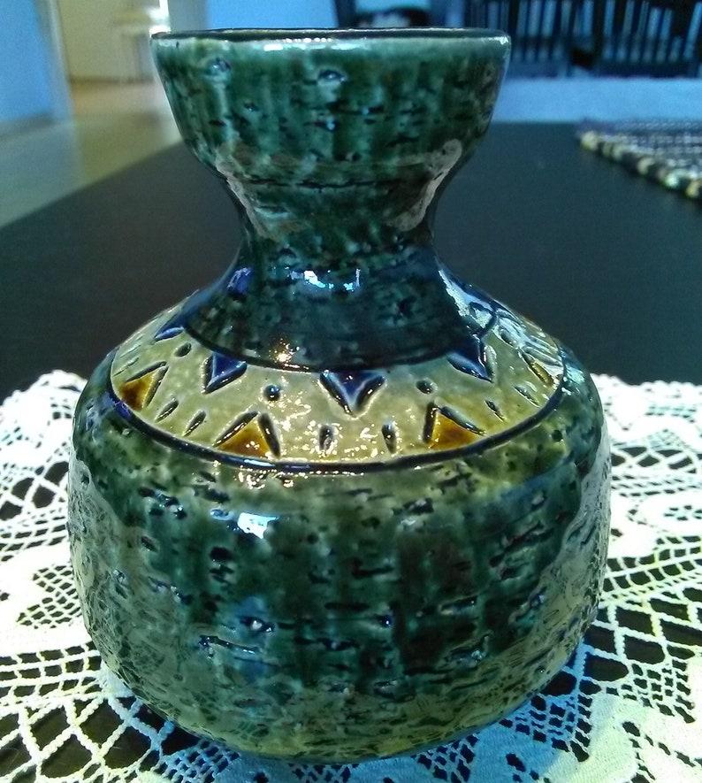 Scandinavian design Swedish vintage 1970.. Yngve Blixt design Ceramic vase H\u00f6gan\u00e4s Ceramic Yngve Blixt vase H\u00f6gan\u00e4s vase