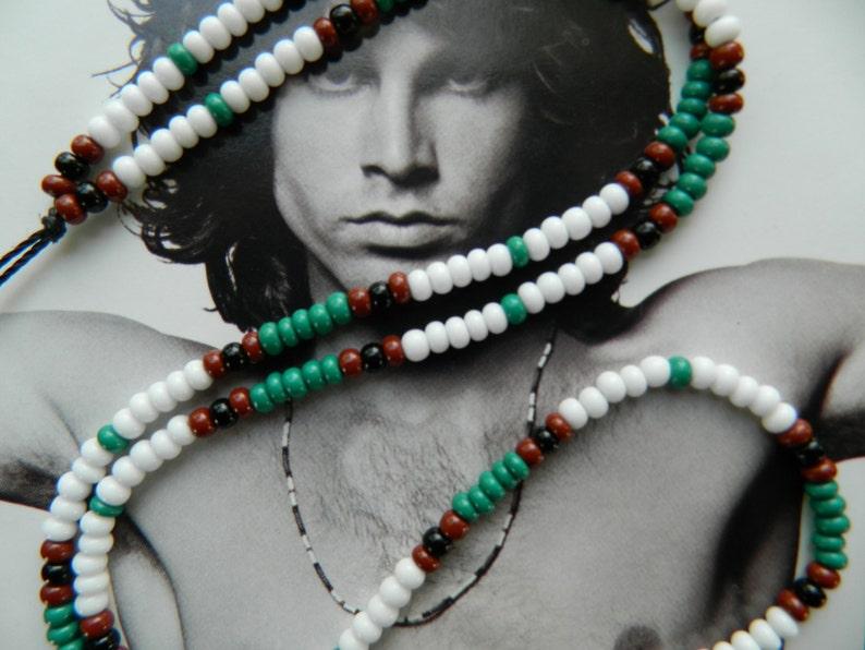 fcba9fb11d0fb Jim Morrison 1967 Cobra Necklace/Jim Morrison Necklace/rock music  jewelry/hippie jewelry/hippie bead necklace/bead necklace