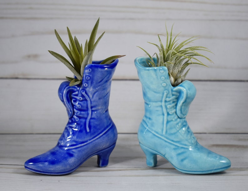 Victorian Boot Air Plant Holder