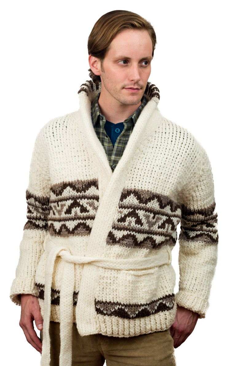 Men's Vintage Sweaters, Retro Jumpers 1920s to 1980s Starsky Sweater Custom Made Starsky & Hutch cardigan Sweater Mens Sweater Starsky - made to order 926.101.MTO $139.00 AT vintagedancer.com