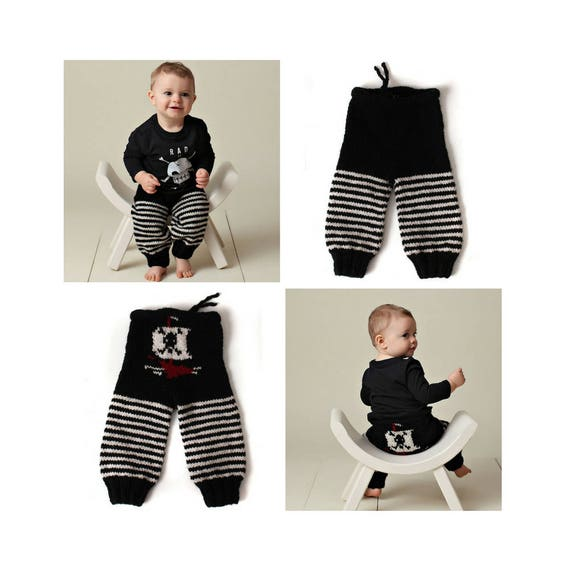 90cedccba Boys Knit Pants Fall Winter Wool Longies Sizes Baby 3 Months