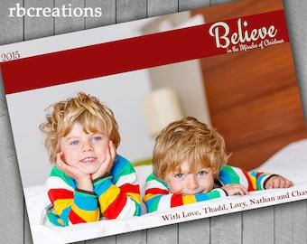Christmas Cards, Photo Christmas Card, Religious Christmas Card, Holiday Card Printable 7