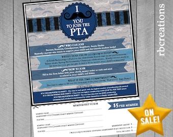 Event Flyer Printable, School Flyer, Organization flyer, 8.5x11 Flyer Design, Custom Flyer, Flyer Design