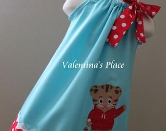 Super Cute Daniel Tiger pillowcase dress