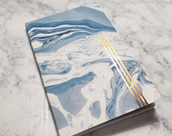 Writer's Bullet Journal // Writer-Themed Planner // Writer Gift // Pre-Made Bujo // Lined Pages // Writer Bullet Journal // 5.25x8.25 A5