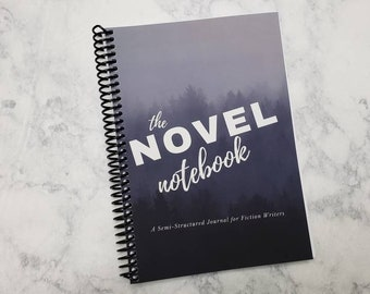 Writer's Journal with Habit Tracker // Writer's Planner // Writer Gift // Author Journal // Writer BuJo // 6 x 8.25 A5