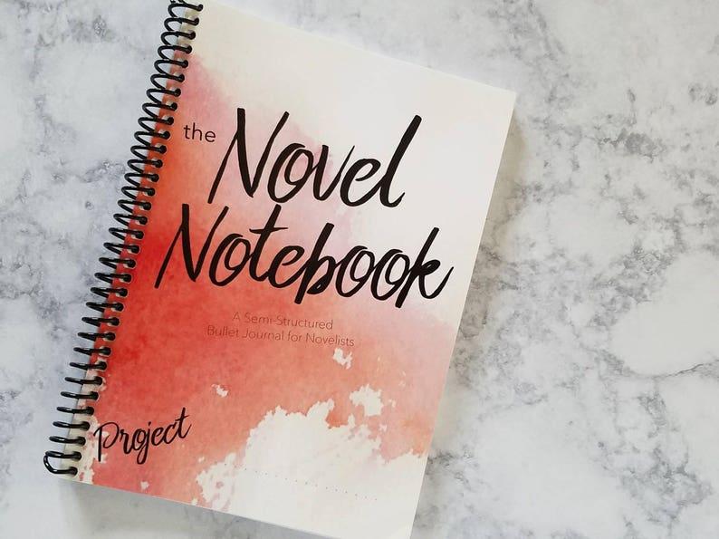 Writer's BuJo // Writer's Planner // Writer Gift // image 0