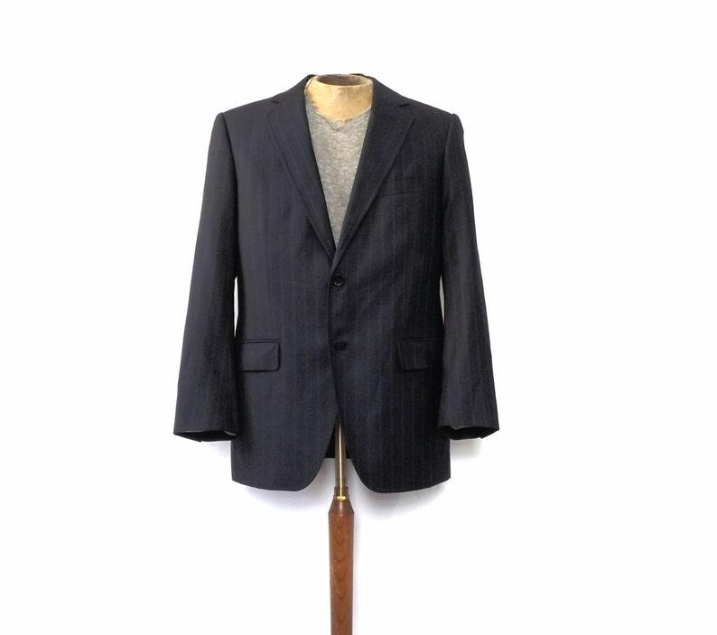 33ddbcf5392 Dolce   Gabbana Sportcoat Vintage Mens Designer Suit Blue