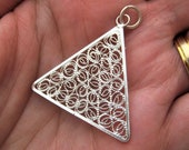 Triangle pyramid Pendant ...