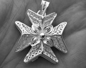3D Maltese Malta filigree...