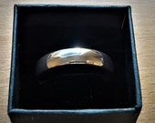 Sterling silver ring, men...