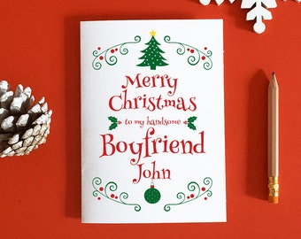 Christmas love card etsy boyfriend christmas card gift for boyfriend romantic christmas christmas boyfriend card boyfriend xmas card christmas love m4hsunfo