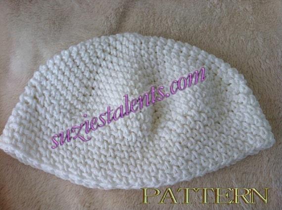 PT040 Crochet Skull Cap Crochet Kufi Hat Men s Kufi  44b8fc57b49