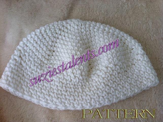 Pt040 Crochet Skull Cap Crochet Kufi Hat Mens Kufi Etsy