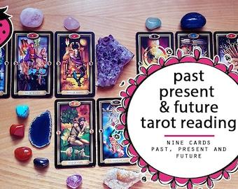 Past, Present & Future Tarot Reading