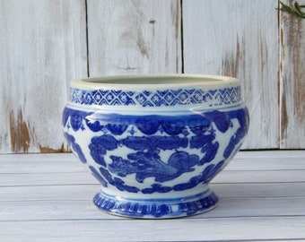 Chinoiserie Planter Etsy