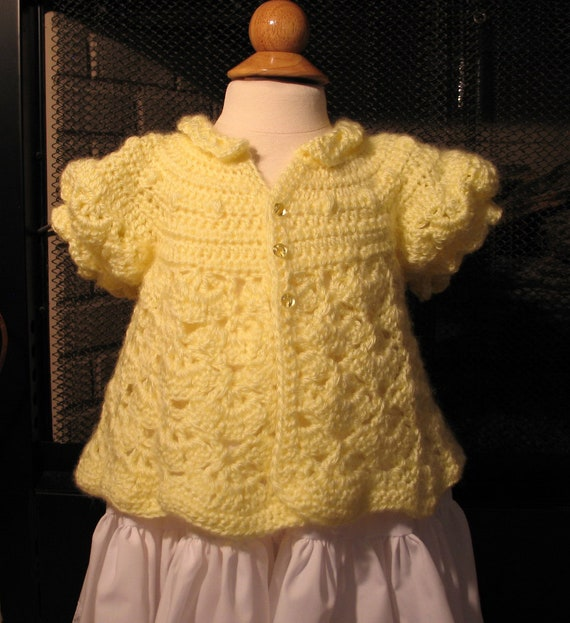 Yellow Princess Sweater