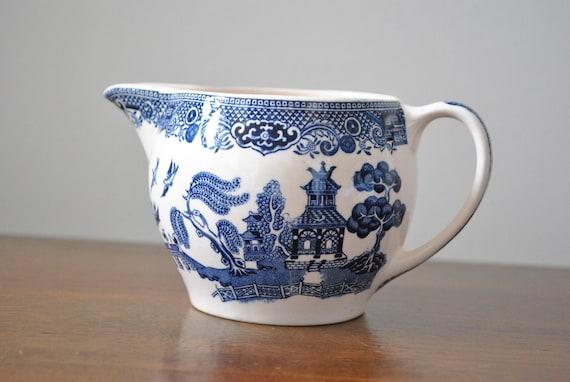 Blue Willow Creamer