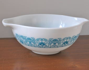 Pyrex Blue Horizon Cinderella 443 Mixing Bowl