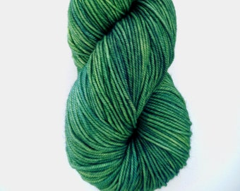 Sport Weight Yarn, Hand Dyed, Tonal, Semi Solid, Superwash Merino, 100 g 325 yds, Super Squishy Sport Superwash - Medusa*In Stock