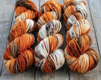 Pumpkin Latte - Dyed to Order Yarn