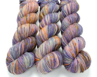 MCN DK Yarn, Speckled Hand Dyed, Superwash Merino Cashmere Nylon, Double Knitting, Bliss MCN dk, 100g 231 yds - Jumbled Up Fun *In Stock