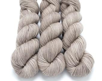 MCN DK Yarn, Speckled Hand Dyed, Superwash Merino Cashmere Nylon, Double Knitting, Bliss MCN dk, 100g 231 yds - Chocolate Milk - *In Stock