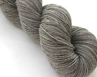 Sock Yarn, Yak Merino Sock Yarn, Undyed Yarn, Natural Yarn, Superwash Merino Yak Nylon, Fingering Weight 100 g - Natural *In Stock
