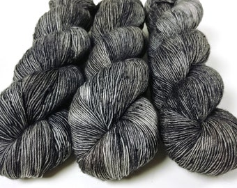Fingering Yarn Singles Hand Dyed, Speckled, Superwash Merino, Fingering Weight Hand Dyed 100g, Shire Singles - Rolling Stone *In Stock