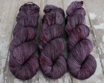 MCN DK Yarn, Speckled Hand Dyed, Superwash Merino Cashmere Nylon, Double Knitting, Bliss MCN dk, 100g 231 yds - Madalena *In Stock