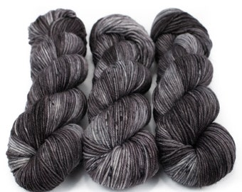 MCN DK Yarn, Speckled Hand Dyed, Superwash Merino Cashmere Nylon, Double Knitting, Bliss MCN dk, 100g 231 yds - Rolling Stone *In Stock
