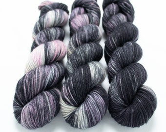 MCN DK Yarn, Speckled Hand Dyed, Superwash Merino Cashmere Nylon, Double Knitting, Bliss MCN dk, 100g 231 yds - Leggins Are Totally Pants
