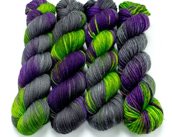 Witching Hour - Choose your base - Sock, Worsted, MCN, Alpaca, Super Bulky, Sport, Mohair, Singles, Sparkle Sock