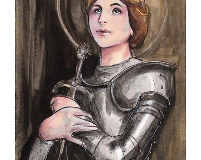 Saint Joan of Arc Art Print