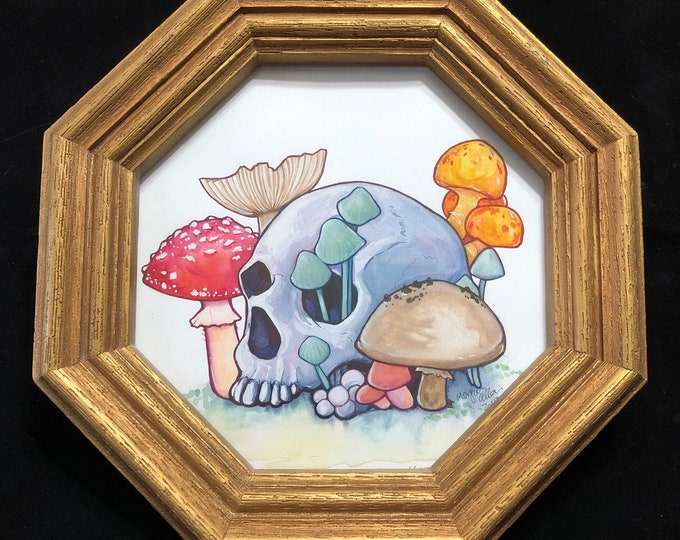 Soft Decay Original Watercolor