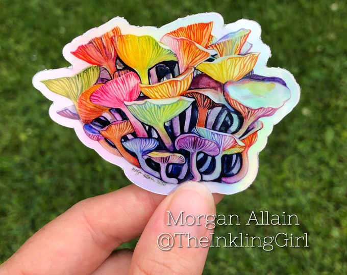 "Cluster Mush 3"" Sticker"