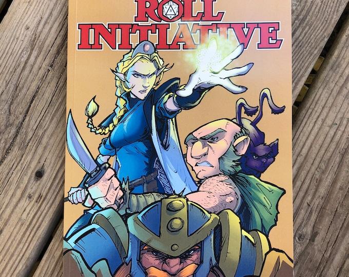 Roll Initiative Graphic Novel
