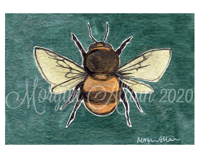 Bumblebee 5x7 Art Print