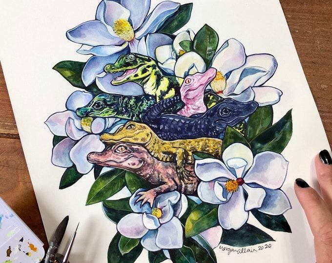 Bayou Blossoms 8x10 Print