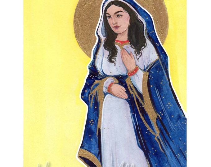 Holy Mother 5x7 Art Print