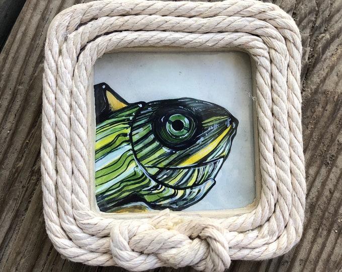 Turtle Mini Painting
