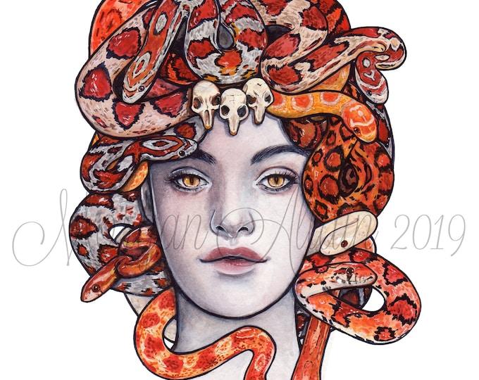 Medusa 8x10 Art Print